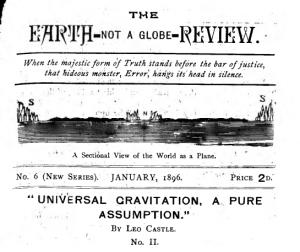 Earth not a glove review Gravitation, a pure assumption