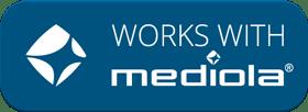 works with mediola Logo