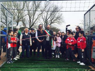 Nuovo campo da calcetto e tennis a Pantalla