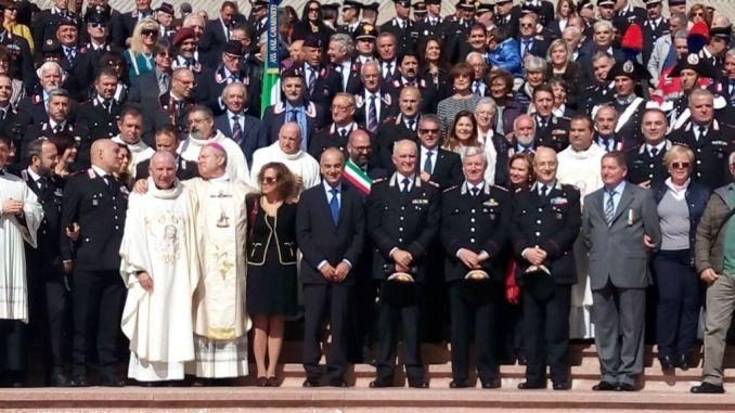 """I carabinieri della """"Legione"""" Umbria presso il santuario dell'amore misericordioso"""