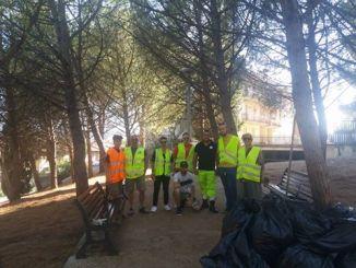 Casapound Todi, area verde quartiere Europa ripulita