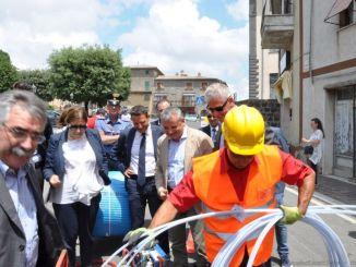 Umbria, avvio dei cantieri, connettività ultraveloce con risposta di qualità