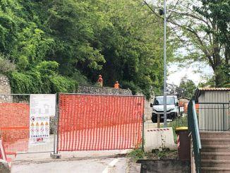 Cominciati i lavori per la riapertura della strada di via di Castelleone a Deruta