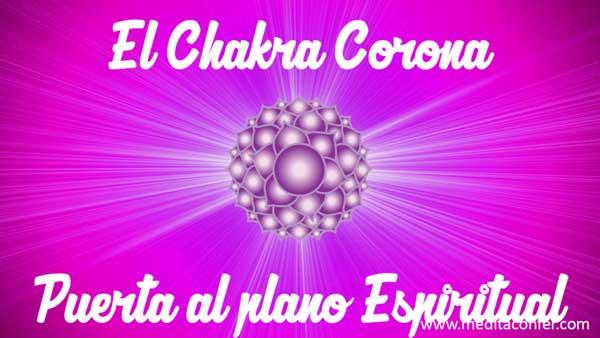 El chakra corona te abre puertas.