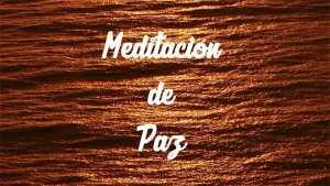 Cómo meditar: Meditación de paz.