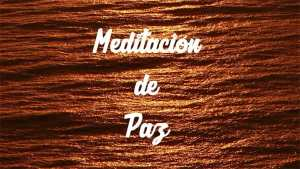 meditacion de paz