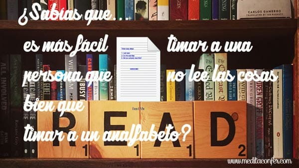 La importancia de la comunicación y la lectura.
