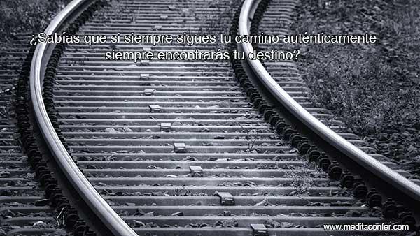 Siguiendo tu camino, te llevará a tu destino, incluso en momentos de transición.