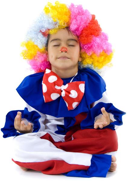 Immagini per la meditazione - yoga, meditation, zen (Bambini - Clown)