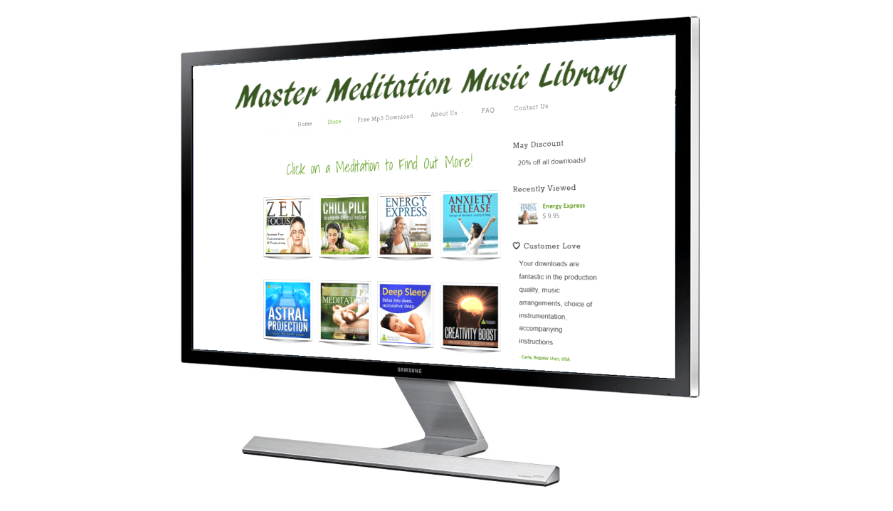 Master Meditation Music Library