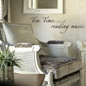 tea time reading music