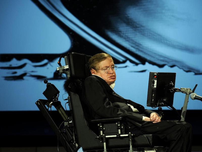Stephen Hawking's Advice to Those Living with Depression