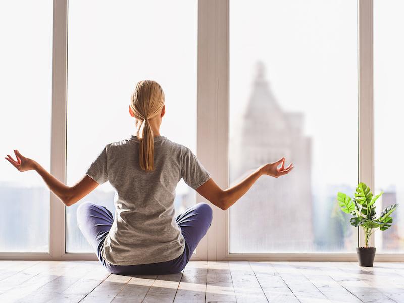Stressed about Coronavirus? Try Yoga