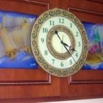 שעון גדול בעיצוב אישי לבית כנסת