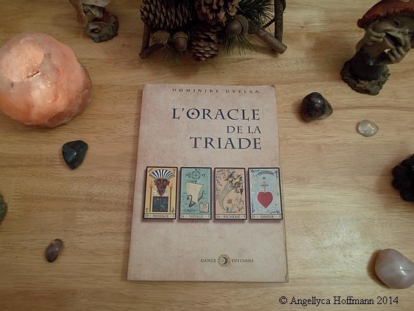 Oracle de la Triade - Livre - Blog ésotérique Murmures d'automne