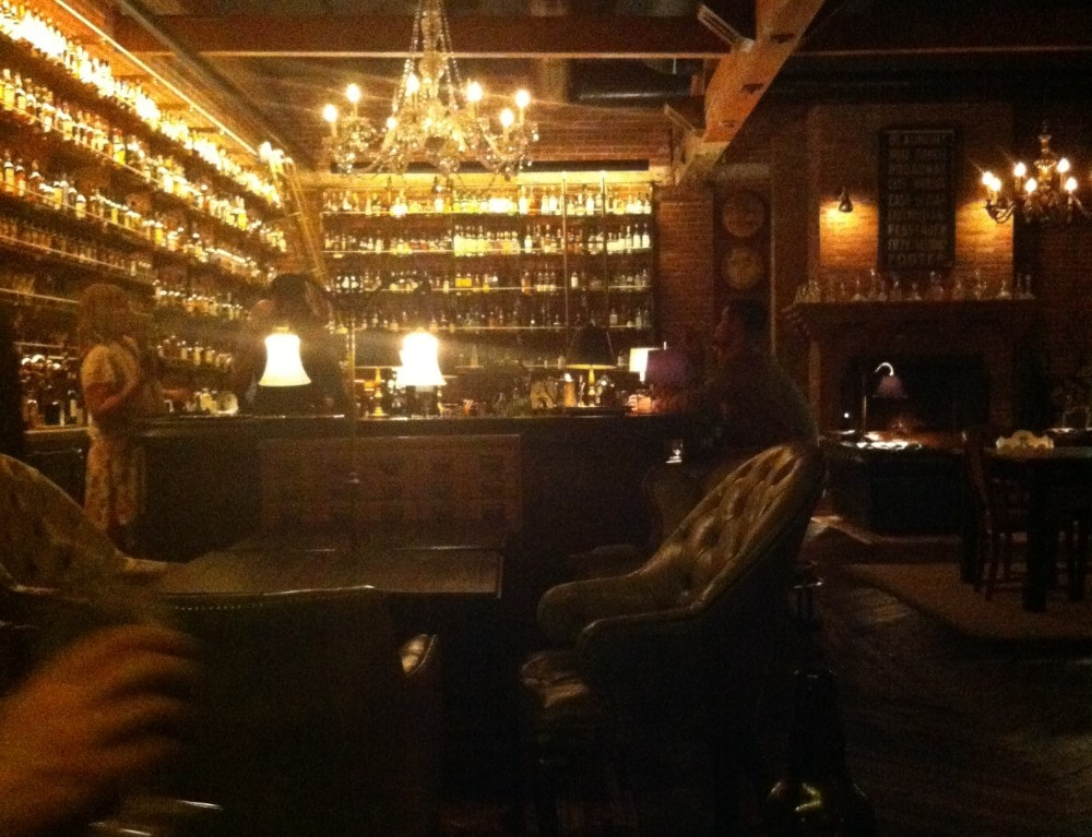 Multnomah Whiskey Library, Portland, OR.