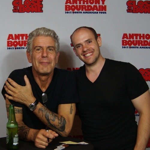 Anthony Bourdain and Nick Davis