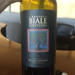 5. Robert Biale Vineyards, Black Chicken Zinfandel, Napa Valley 2013, Medium Plus