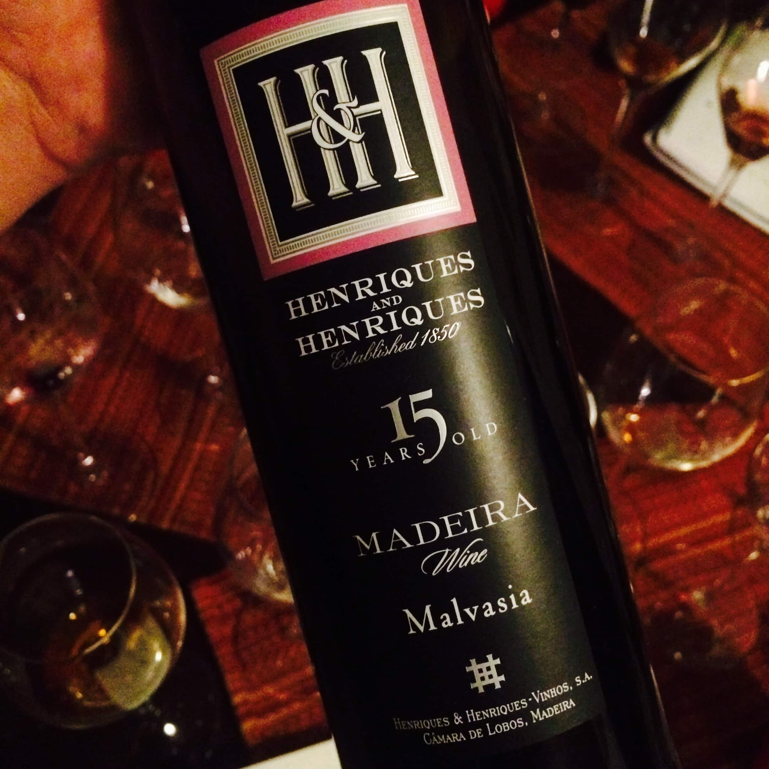 Henriques and Henriques, 15 Year Old Malvasia Madeira