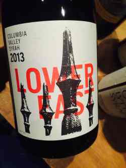 Gramercy Cellars, 'Lower East', Columbia Valley Syrah 2013