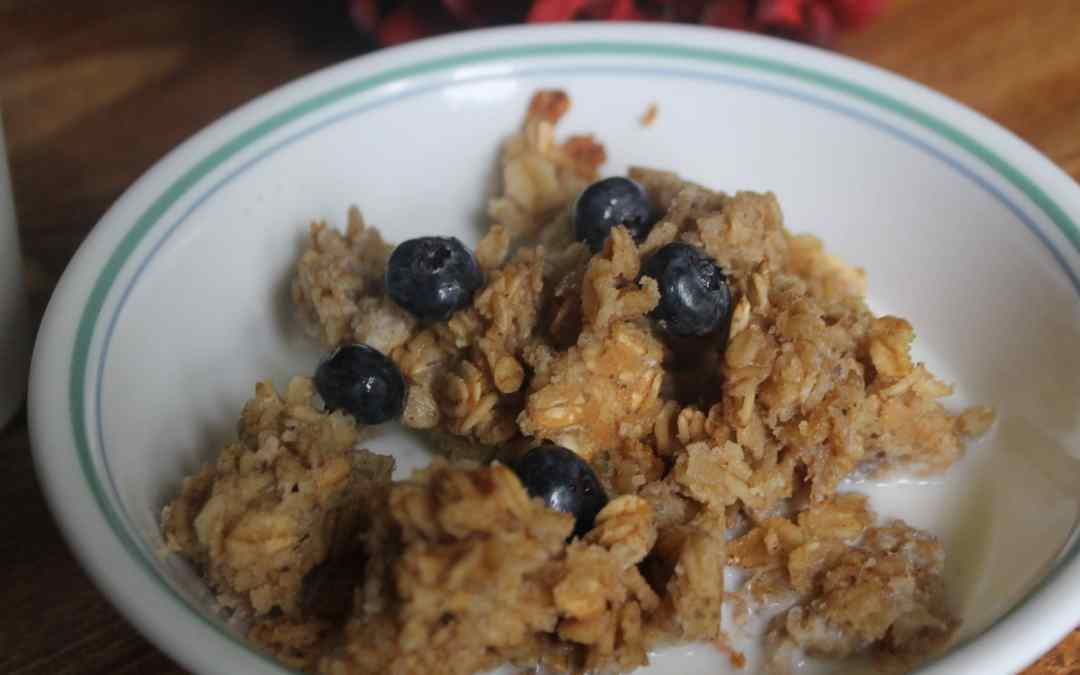 Save Your Leftover Fruit with Scrappy Baked Oatmeal