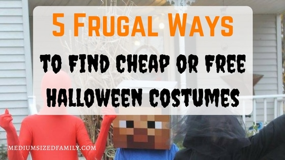 5 Frugal Ways to Find Cheap or Free Halloween Costumes