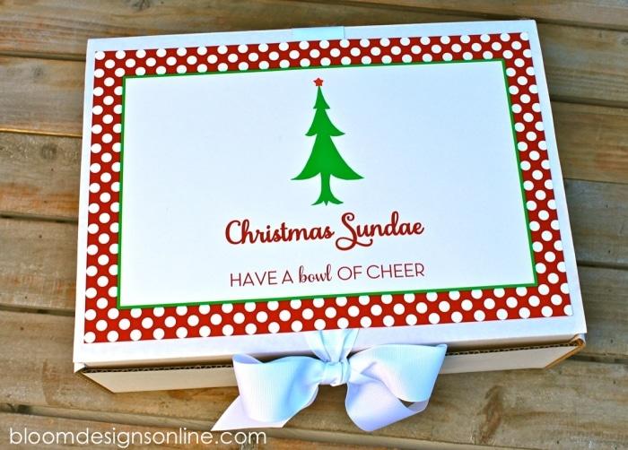 Christmas Sundaes