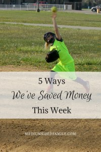 5 Ways We've Saved Money This Week 33: Follow this family as they record the new ways they've saved every week.