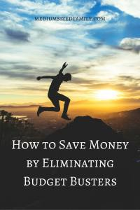 How to save money by eliminating budget busters. We all have pesky leaks in our budgets that stop us from achieving our true goals in life. Here is real help with step by step directions for eliminating those budget busters. Totally free.