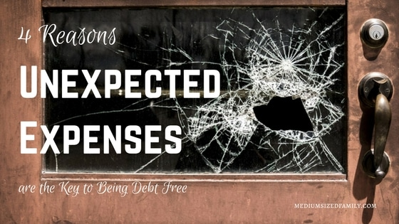 4 Reasons Unexpected Expenses are the Key to Being Debt Free. Wondering why you can't get out of an endless cycle of debt? You're probably being sidetracked by unexpected expenses. Here's why it's happening and what you can do to stop it.