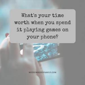 How to make money online for free. What's your time worth when you spend it playing games on your phone?