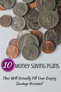There are a bunch of different plans to choose from here. Charts and other ideas to make saving more fun.