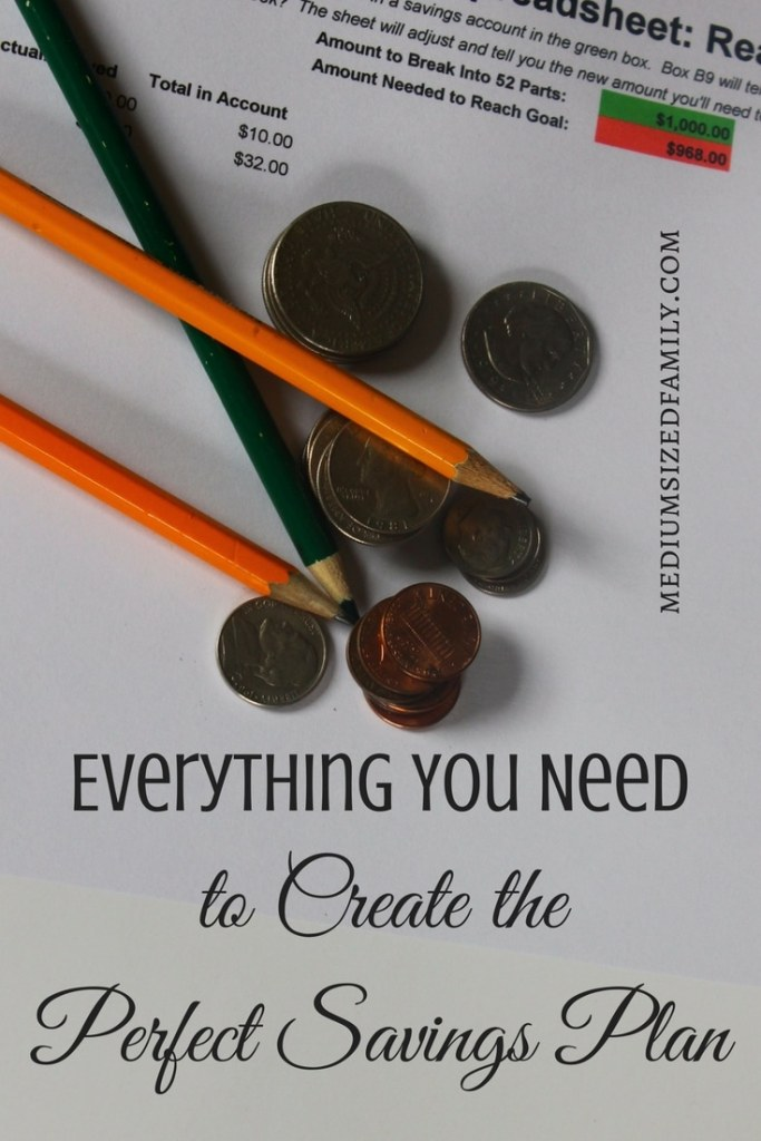 If you have trouble making a savings plan that actually sticks, you're gonna love this! Tons of different ideas to get you started saving money here.