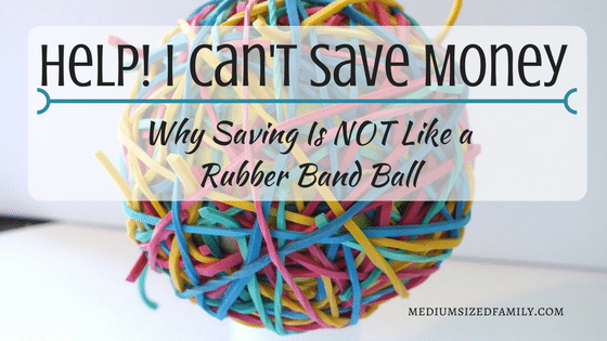 Help! I Can't Save Money-There's Always An Emergency