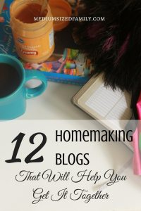 This list of homemaking blogs is awesome! There's something for every kind of homemaker here.
