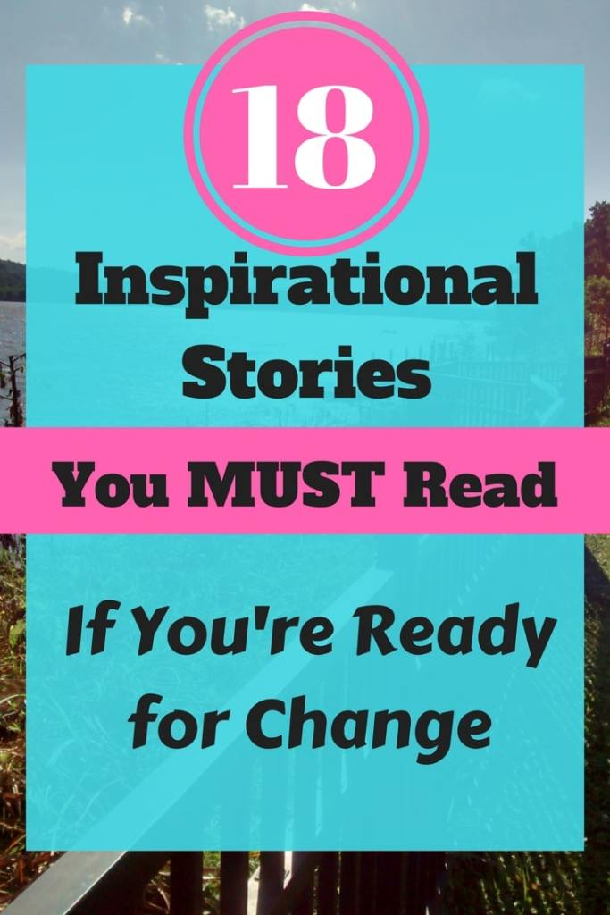 18 Inspirational Stories of Motivation and Wisdom that you're gonna have to read if you're looking for some motivation in your life right now!