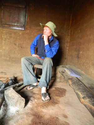 """Photo 3. Eric Mgohamwende from the Tanzania Albinism Society, who is responsible for the Kilolo district. He stated: """"It is important to talk about people with albinism and conduct awareness campaigns on our behalf, but we do not have funds to carry this out.""""   2012 © Giorgio Brocco"""