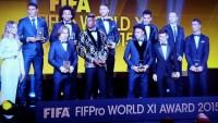 FIFPro World XI, najbolja momčad svijeta za 2015.g