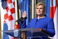 Kolinda Grabar Kitarović polaže zakletvu