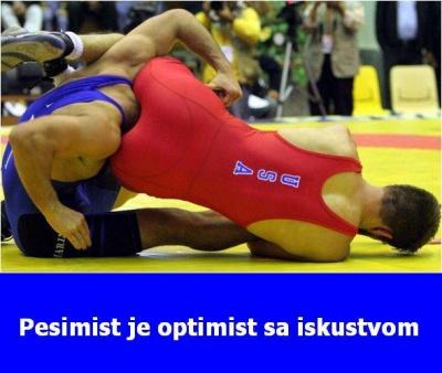 Pesimist je optimist sa iskustvom