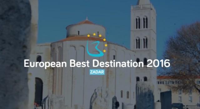 Zadar je osvojio titulu najbolje europske destinacije za 2016.