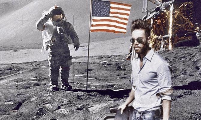 Marko Grubnić na Mjesecu