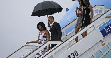 Obama sletio u Havanu