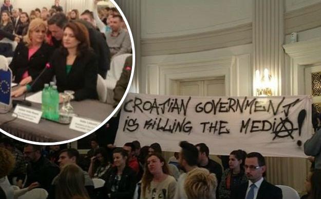 Kolinda izviždana na konferenciji koju je organiziralo američko veleposlanstvo