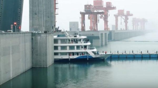 lift na hidrocentrali u Kini