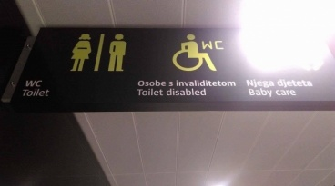 wc onesposobljen