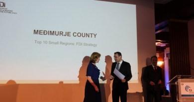 Županu uručeno priznanje Financial Timesa za top 10 regija za investicije u Europi!