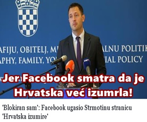Hrvatska je već izumrla!