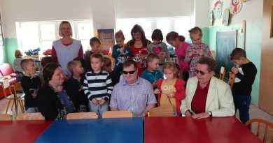 Iz Udruge slijepih MŽ posjetili dječji vrtić