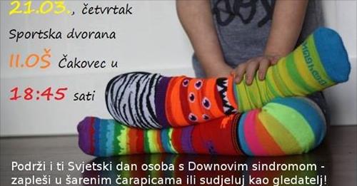 Zašto su čarape šarene na Svjetski dan osoba s Down sindromom?